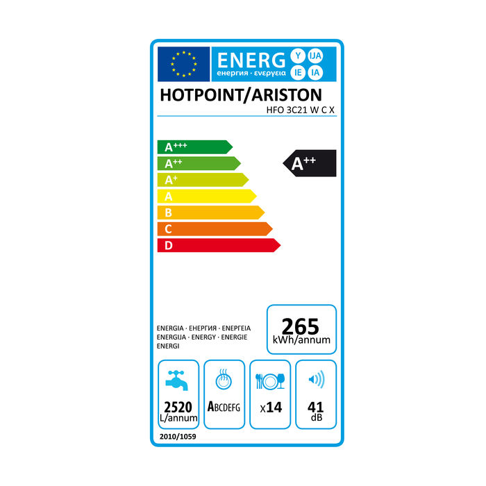 Hotpoint HFO 3C21 W C