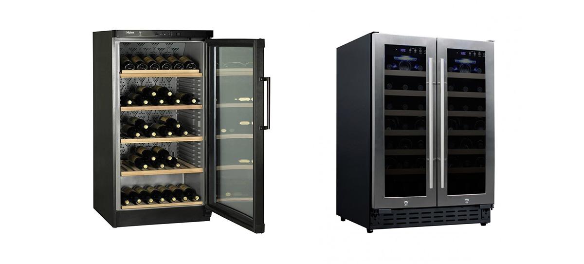 Cantinetta vino a incasso o libera installazione