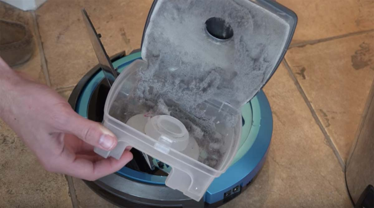 contenitore polvere Bissell EV675