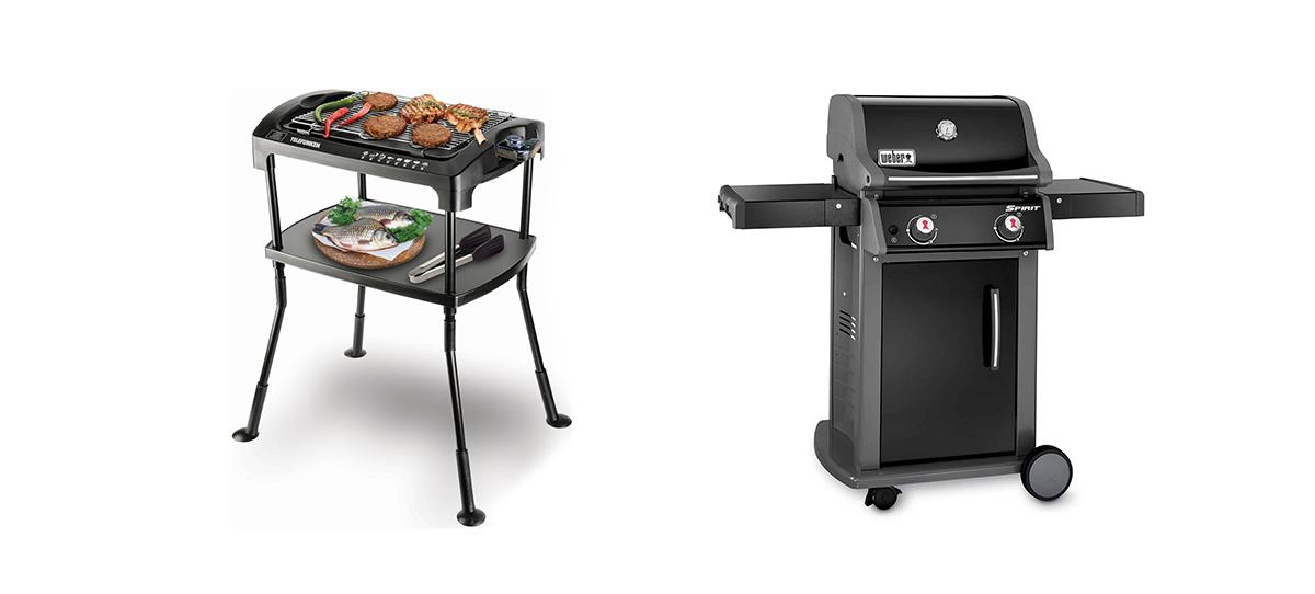 barbecue elettrico o a gas