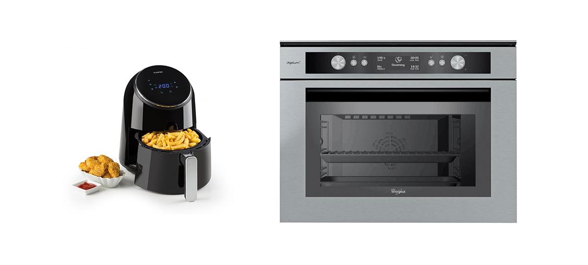 friggitrice ad aria o forno ventilato