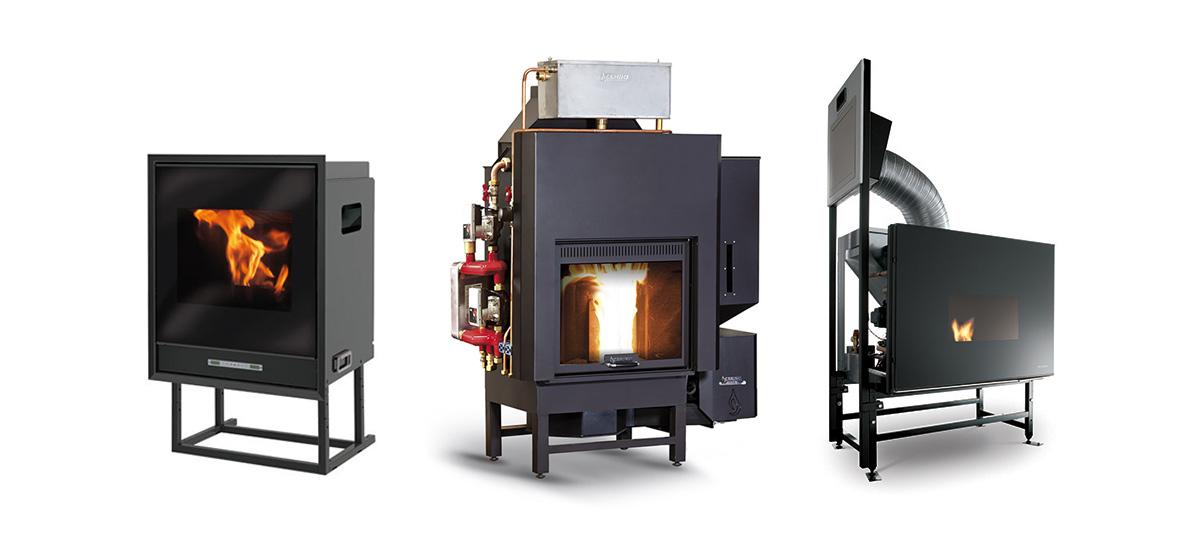Migliori termocaminia a legna e a pellet del 2019 for Vulcano termocamini pellet