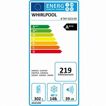 Whirlpool No Frost - BTNF5323OX